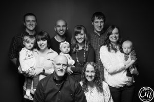 family-photo-black-and-white