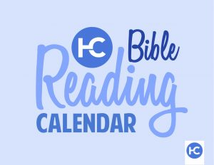 Harvest Bible Reading Calendar
